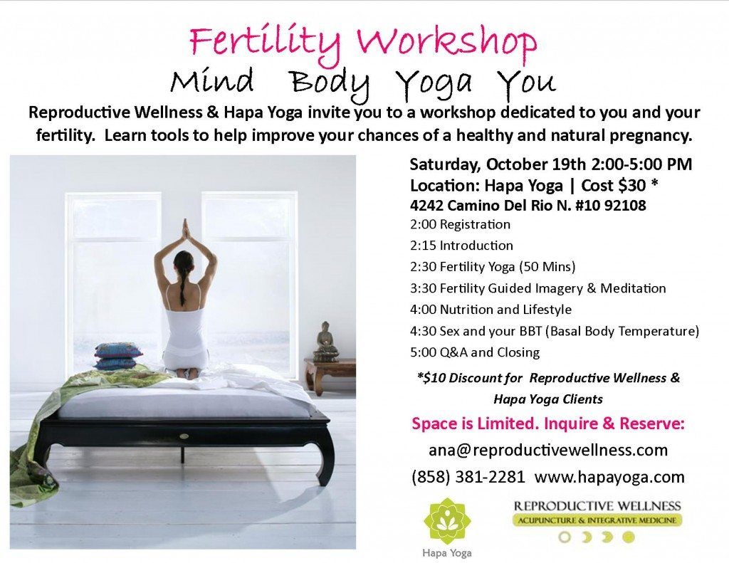 Fertility Workshop San Diego