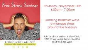 Holiday Stress Seminar TTC