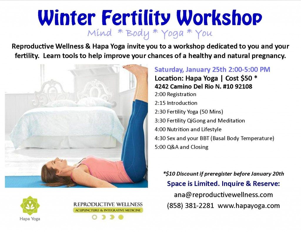 Yoga Fertility Workshop