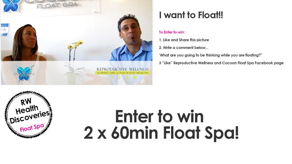 Enter to win float